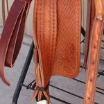 ​ Tooled stirrup leathers  ($25 for pair)
