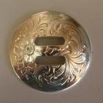 ​Silver conchos ($35 per saddle)